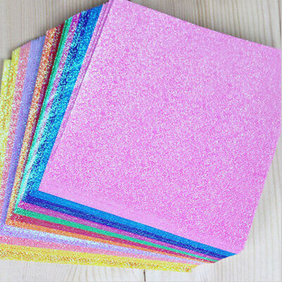 50Pcs Sheets Multi-Colors DIY Origami Paper Multi-size Crafts Square Sheets Hand