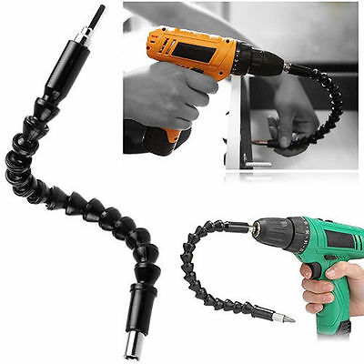Flexible Long Screwdriver Drill Bit Holder Link For Electronic Drill