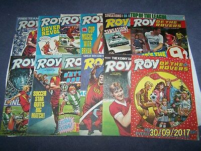12 Roy of the Rovers 19/9, 3,10,17, 24, 31/10, 7, 14, 28/11, 12, 19, 26/12/87