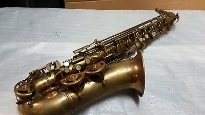 40's MAURICE BOISTE ALTO SAX / ALT SAXOPHONE - made in FRANCE