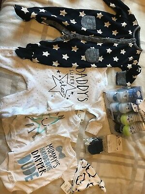 Job Lot Of New Baby Clothes  Mostly 0-3