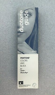 Pantone Fan Book Duotone Colors and Black Guide COATED For Adobe Photoshop - EUC
