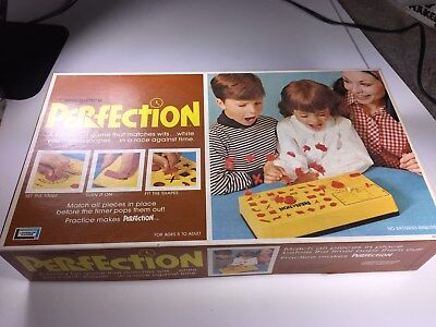 Lakeside Perfection Game Sealed Bags Unused 1970's