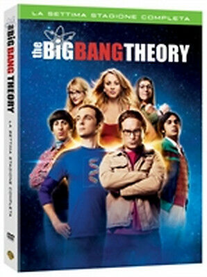 The Big Bang Theory - Stagione 7 (3 DVD) - ITALIANO ORIGINALE SIGILLATO -