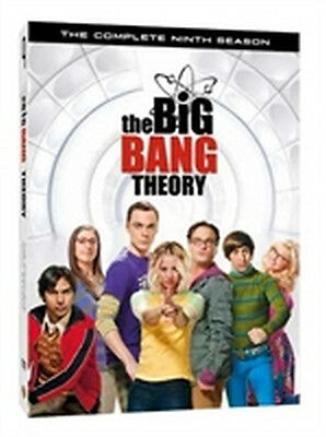 The Big Bang Theory - Stagione 9 (3 DVD) - ITALIANO ORIGINALE SIGILLATO -