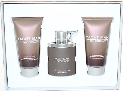 035e476186 YACHT MAN CHOCOLATE by Myrurgia cologne EDT 3.3 / 3.4 oz New in Box ...