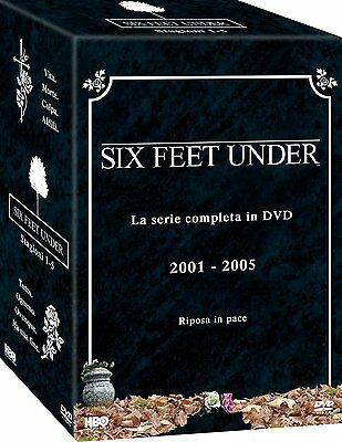 Six Feet Under: La Serie Completa (25 DVD) - ITALIANO ORIGINALE SIGILLATO -