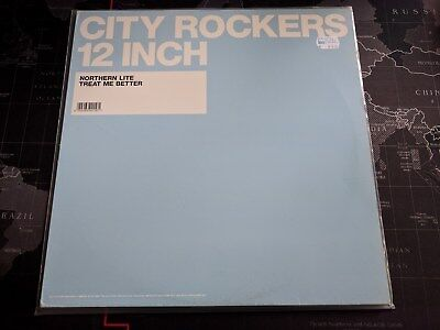 NORTHERN LITE - Treat me better / Treat me harder CITY ROCKERS 12 INCH Vinyl