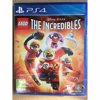 LEGO The Incredibles (PS4) New and Sealed