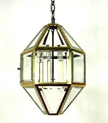 Josef Hoffmann: Large Vienna Secession Pendant Lamp