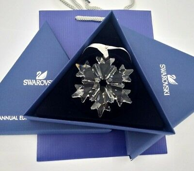 2018  Swarovski Crystal ANNUAL EDITION LARGE CHRISTMAS ORNAMENT