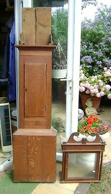 Antique Grandfather Clock - 30hour - For Restoration.