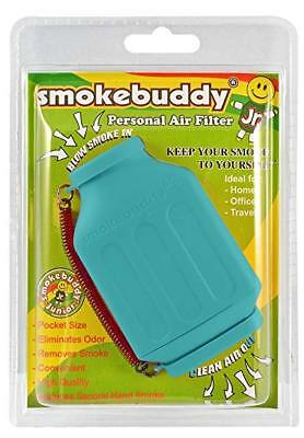 Smoke Buddy Junior Personal Air Purifier Cleaner Filter Removes Odor(Teal)