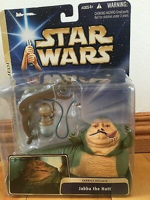 Star Wars Jabba the Hutt , Jabba's Palace Action figure NIB