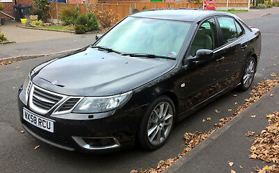 Saab 9-3 ttid Aero with Hirsch diffuser and factory Bose Premium Sound System