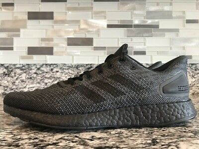 watch d0c7e 71a30 ADIDAS PUREBOOST DPR LTD Core Black Carbon Running Shoes Men Size 7 BB6303