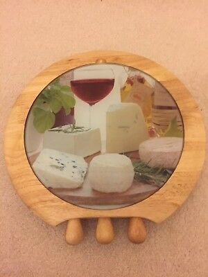 Easylife Wooden Cheese Board With Knives