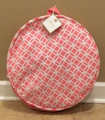 "NEW Pottery Barn Teen PINK Store-It Canvas Floor Standing Catch-All ""LILY"""