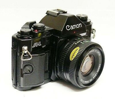 Canon A1 + Canon Fd 50Mm F1.8 Excellent Condition, Perfect Working Order