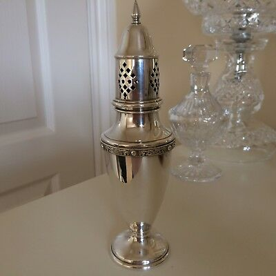 Gorgeous Vintage Silver Plated Ornate Sugar Shaker