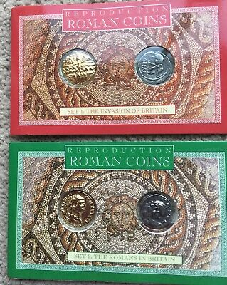 Coin Set.  ROMAN SETS 1&2. by Westair. Reproduction.