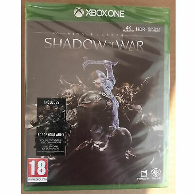 Middle-earth: Shadow of War (Xbox One) New and Sealed