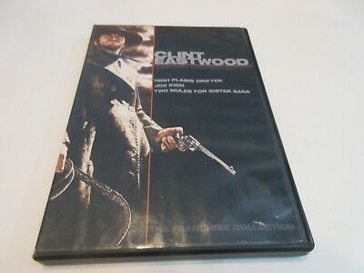 Clint Eastwood: Western Icon Collection (07, 2-Discs) No scratches, Widescreen,