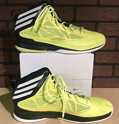 free shipping 7cce9 444ba NEW Adidas Mad Handle 2 Basketball Sneakers APE 779001 Mens US Size 18