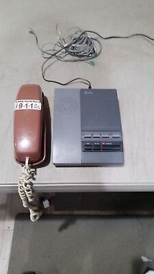 AT&T Remote Answering System 1306 w/ cables + Cobra ST-512 phone + FREE SHIPPING