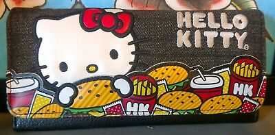 LOUNGEFLY Hello Kitty Wallet Adorable Hamburgers and Fries