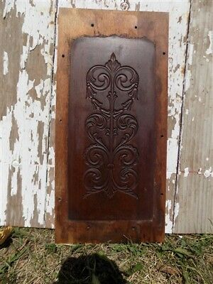 Decorative Wooden Panel Furniture Door Window Pediment Architectural Salvage a