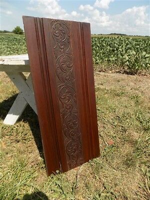 Decorative Wooden Panel Furniture Door Window Pediment Architectural Salvage e