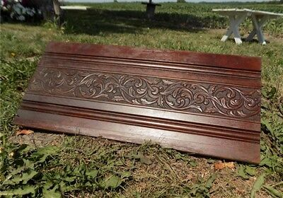 Decorative Wooden Panel Furniture Door Window Pediment Architectural Salvage f