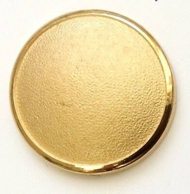9 CT Gold PLAIN DOMED GILT  Holland & Sherry Blazer Buttons  Gift for Men