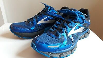 Brooks Adrenaline ASR 14 Mens UK 10 Running Shoes - Blue. Great Condition.