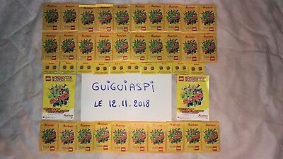 Lot de 30 Paquets neufs LEGO Auchan (180 cartes) Collection + 20 vignettes + ...