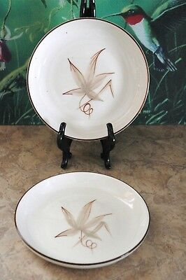 """Winfield Hand Crafted China - PASSION FLOWER - 5 7/8"""" Bread & Butter Plates (2)"""
