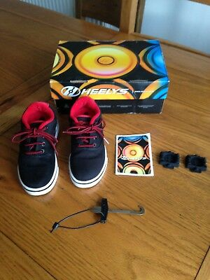 Heelys Boy's Launch sneakers size 12 barely used with box