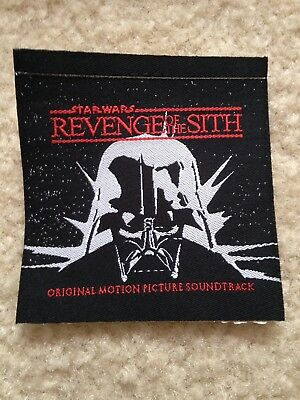 Star Wars Revenge Of The Sith Promo Patch Never Used