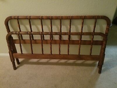 Antique Jenny Lind Spool Full Size Bed