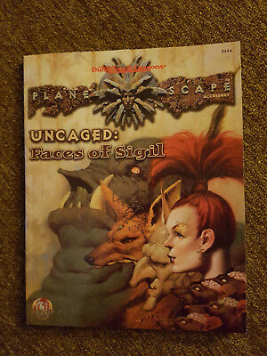 AD&D  / Advanced Dungeons&Dragons - TSR - PS -Uncaged:Faces of Sigil -TSR 2624