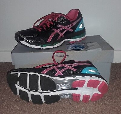 Asics Gel Glorify 2 Womens Ladies Neutral Running Shoes Size UK6/Euro39.5