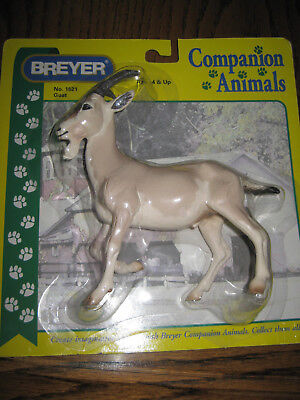 Breyer #1521 Companion Animals Tan / Fawn colored Goat - Made 2002-2004 Only!