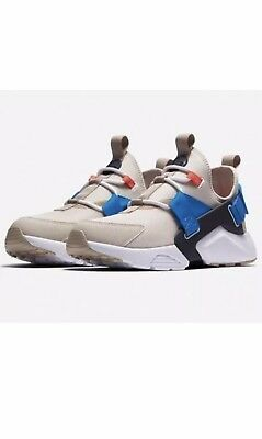 9c3ce00d83b9 Womens Nike Air Huarache City Low AH6804-006 Desert Sand New Size 10   11.5