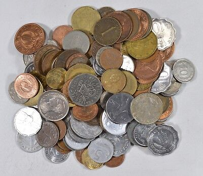 Roughly a POUND of Mixed World Coins - Great Mix *195