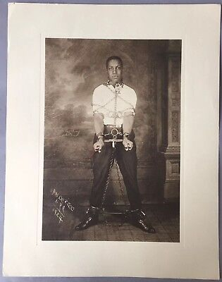 James Van Der Zee  nyc 1924 photo/lithograph? signed