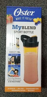 Oster BLSTAV-ORN MyBlend 20-Ounce Sport Bottle Accessory, Orange FREE SHIPPING