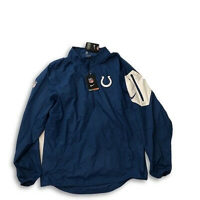 e99aa7b4a NWT New Indianapolis Colts Nike 1 2 Zip Lockdown Performance Small Jacket
