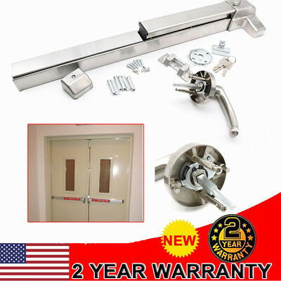 Door Push Bar Safety Panic Bar Exit Device Hardware Heavy Duty Commercial Grade
