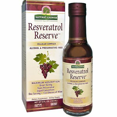 Nature's Answer Resveratrol Reserve Cellular Complex 150ml